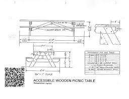 refreshing free picnic table plans 2x6 30 for amazing picnic