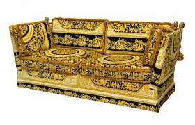 versace orleans framed sofa purchased through the versace store