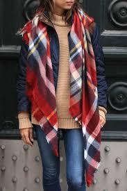 i like it here plaid blanket scarf plaid blanket scarf plaid