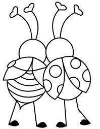 Love Bugs Valentines Day Coloring Page And Song
