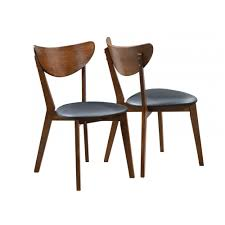 Mid-century Modern Dining Side Chair (pack Of Two) Modern Ding Chair Tribute Collection Contemporary Danish Teak Black Leather Chairs Set Of 4 Exclusive And Marvin Midcentury Faux 2 Rosewood And Whosale Room Ideas Different Mid Century Best Ding Chairs Room Fniture Italian Mid Century Danish Modern 6 Erik Buck Rosewood Leather Emfurn Fox1705bset2 Fniture By Safavieh