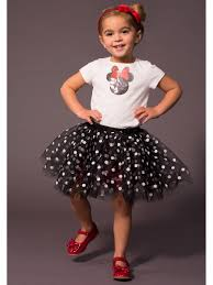 100 Mim Design Couture Disney Collection By Tutu Sequin Minnie Tee W Dotted Tutu