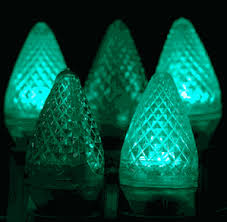twinkle c7 led green replacement lights novelty lights inc