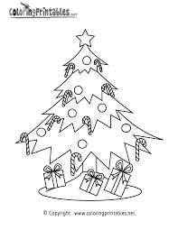 Christmas Tree Coloring Pages Book 19