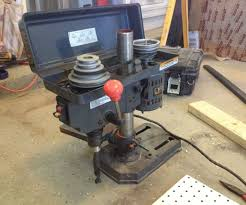 Floor Mount Drill Press by Bench Top Drill Press To Portable Drill Press 9 Steps