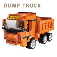 Amazon.com: Building Blocks Dump Truck Robot Monster 306 Pieces ...