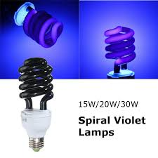 uv light bulb ultraviolet l fluorescent cfl e27 15w 20w 30w