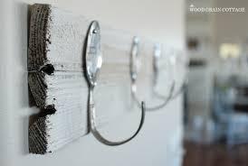 DIY Spoon Pallet Hook Rack