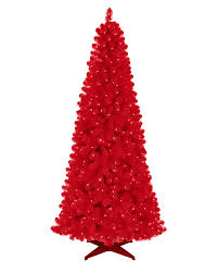 3ft Pre Lit Blue Christmas Tree by Red Artificial Christmas Tree Treetopia
