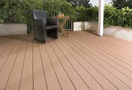 Balcony Plastic Wood Floor Materials Veranda Wpc Deck Flooring