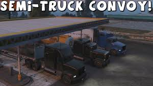 Grand Theft Auto 5 | Semi-Truck Convoy | Part 1 - YouTube Euro Truck Simulator 2 Xbox 360 Controller Youtube Video Game Party Bus For Birthdays And Events American System Requirements Semi Games Online Free Apps And Shware Best Farming 2013 Mods Peterbilt Dump Challenge App Ranking Store Data Annie Heavy Android On Google Play 3d Parking 2017