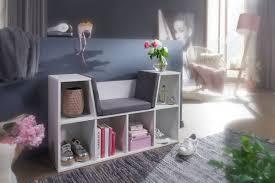wohnling design regal mit sitzfläche 101 5 x 61 5 x 30 cm weiß matt