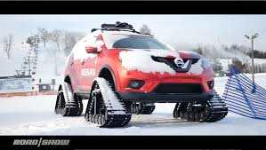We Pummel The Powder In Nissan's Winter Warrior Concepts - Video ... Custom Rubber Tracks Right Track Systems Int Vehicles You Wont Believe Are Road Legal Tank Vs Ifv Apc A Military Ground Vehicle Idenfication Guide Dtv Shredder An Allterrain That Fits In Your Car Fifteen Cars Ditched Tires For Autotraderca N Go Bangshiftcom Restored Us Army Wwii M2 Half Is Cool Functional Darpa Wheels Change From Tires To Tracks Without Stopping 2018 Gmc Sierra Hd 2500 All Mountain Concept For American Truck Suv System