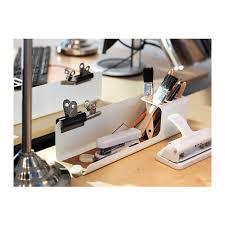 rangement stylo bureau kvissle organiseur bureau ikea rangement idéal pour stylos règles
