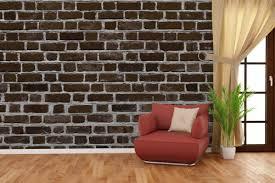 vliestapete ziegelsteinwand in braun backsteine 400 x 267 cm