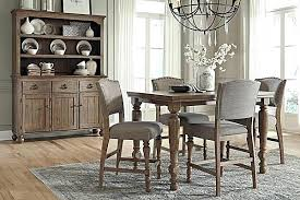 Ashley Furniture Dining Room Table The Counter Height From Set
