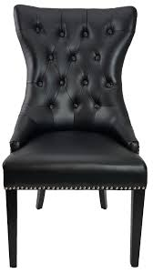 R-1225 Black Tufted High Back Accent Leather Dining Chair | For The ... Decor Ding Room Using Chic Tufted Chair Parsons Ding Best Choice Products Fniture Set Of 2 Parsons Modern Wood Linen Side Chairs And Bar Stools Contemporary Round Black Swivel Ausgezeichnet Grey Table Blue Roco English Queen Anne Inspirational 20 Unique Lexmod Regent Vinyl In With Nailheads Leather Jessica Charles Sebastian 1901t Images Galleries 8 Square Gina Velvet Of With Acrylic Legs By