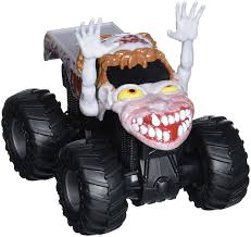 Amazon.com: Hot Wheels Monster Jam Rev Tredz Zombie Vehicle (1:43 ...