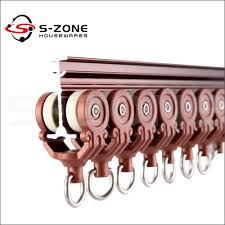 Ceiling Mount Curtain Track Bendable by Bent Heavy Duty Curtain Track Ceiling Or Wall Mount Buy Curtain