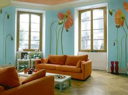 light green and brown living room modern house