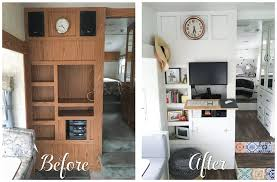 Top Travel Trailer Remodel Before And After