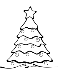 Click To See Printable Version Of Christmas Tree Coloring Page