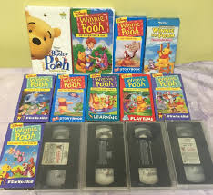 The Berenstain Bears Christmas Tree 1979 by Winnie The Pooh Vhs Lot Of 14 Playtime Learning Friendship