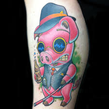 Pig Tattoo Meanings