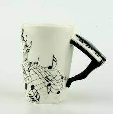 Cute Coffee Mug Designs Rock Band Mugs