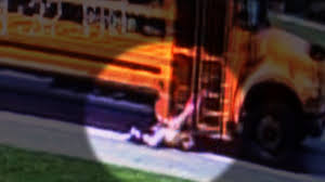 100 18 Tiny Teen School Bus Drags Little Girl