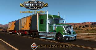 Traffic Truck Lonestar BETA For ATS - ATS Mod | American Truck ...