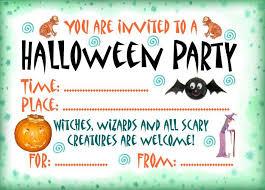Free Halloween Invitation Templates Microsoft by Party Invitations Marvellous Halloween Party Invitations Design