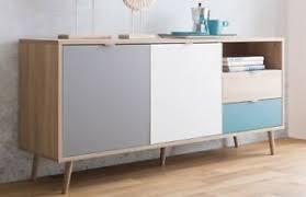 sideboard skandinavisch mehrfarbig wohnzimmer kommode skandi