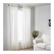 Ikea Lenda Curtains Beige by Aina Curtains 1 Pair White Living Rooms Bedrooms And Room