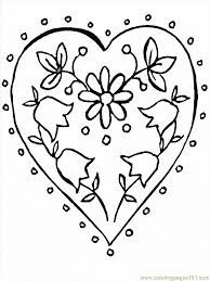 Coloring Sheets Flowers Printables Printable Flower Pages 2 Page