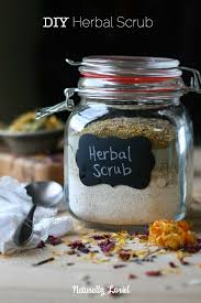 Treat Yourself To An In Home Spa Day With This DIY Herbal Scrub Made
