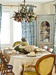 Dining Room Table Centerpiece Ideas by 13 Rustic Thanksgiving Table Setting Ideas Hgtv