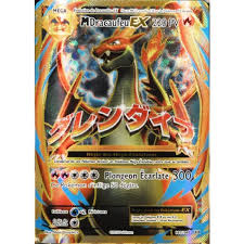 Carte Pokémon 101108 Méga Dracaufeu Ex 220 Pv Full Art Xy
