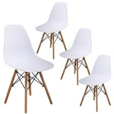 Dining Room Chairs Dining Chairs Kitchen Chairs Mid Century Modern White  Chair Set Of 4 Plastic Eames For Home Furniture Appealing Modern White Ding Chairs Home Furnishings Kit Modern Upholstered Ding Chairs With Arms Crazymbaclub Mid Century Upholstered Chair Avalonitnet Audrey Dark Grey Details About New Set Of 2 Elegant Design Fabric Accent L848 China Colorful Coffee Table Gold Wedding Garden Outstanding Small Room With Rectangle Modrest Legend Black Danish Teak Rope Cord Post Concorde By Torstein Flaty Norway 1980s Of 4 For Walmartcom