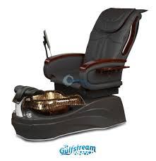 Gulfstream Plastics Pedicure Chairs by Gs La Tulip 2 Air Vent Pedicure Spa Chair