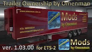 100 Ch Robinson Worldwide Truck Trailer Ownership V10300 Mod For Euro Simulator 2