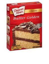Classic Butter Golden Cake Mix