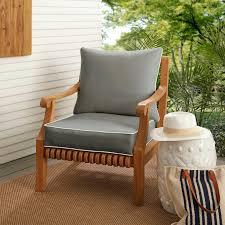Outdoor Lounge Chair Cushions Clearance Chaise Cushion ...