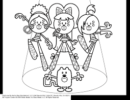 Wow Wubbzy Coloring Pages 2812500