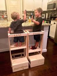 aide de cuisine tabouret pour enfant escabeau sans danger tabouret de cuisine