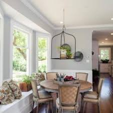 Informal Dining Room With Large Bay Window