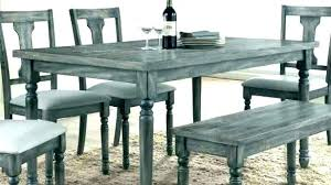 Grey Chair Dining Table Set Gray Wash Incredible Alluring Unique Design Rustic Sweet Ideas White Chic
