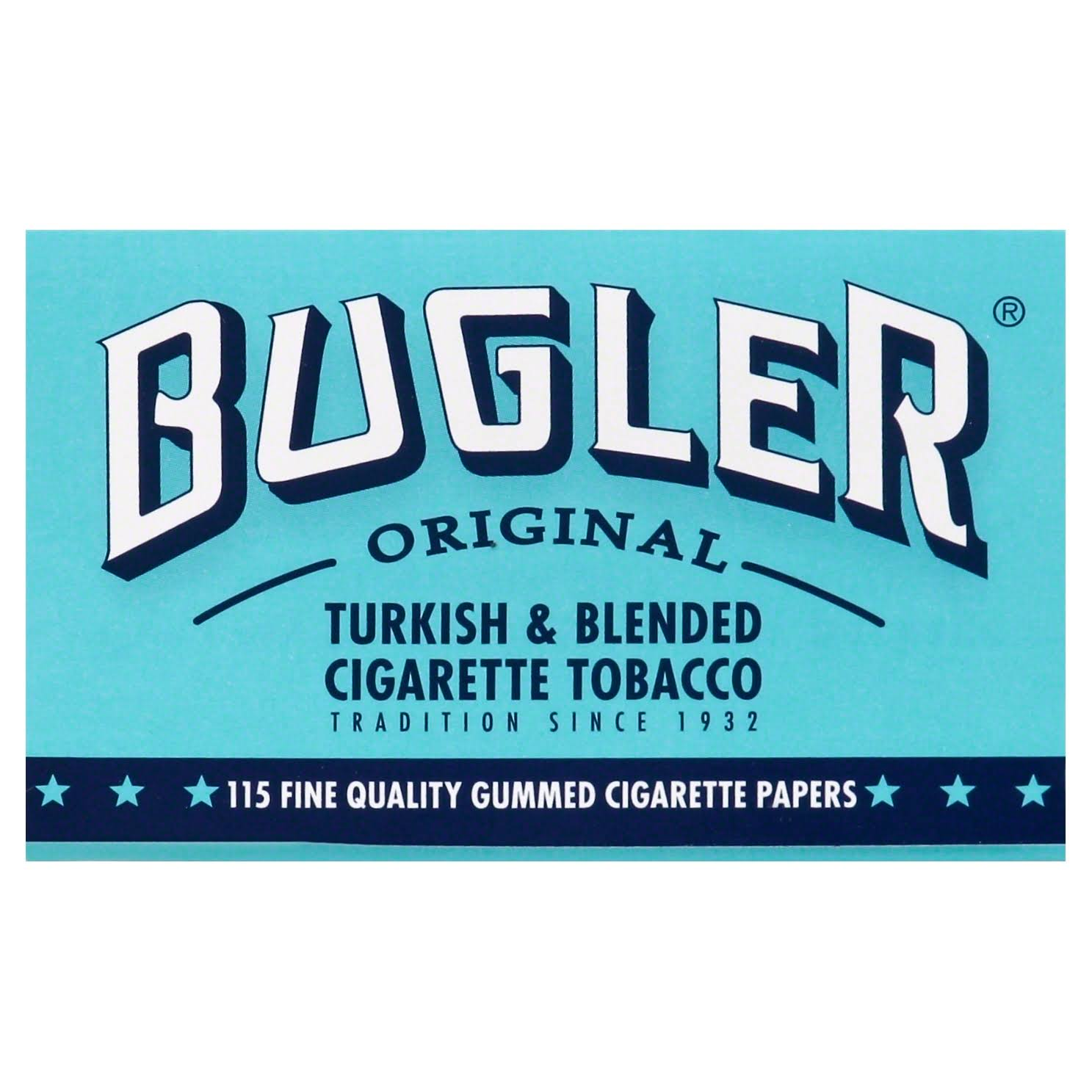 Bugler Papers, Cigarette, Fine Quality, Gummed, Original - 115 papers
