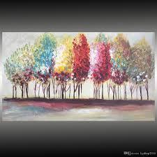 Paradis Perdus Peinture Huile Sur Toile