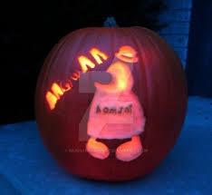 Homestar Runner Halloween Pumpkin by Homsar Explore Homsar On Deviantart